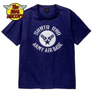 ザ リアルマッコイズ MILITARY TEE / SANTA ANA BASE Tシャツ MC19020 THE REAL McCOY'S