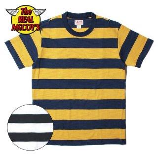 ザ リアルマッコイズ BUCO STRIPE TEE S/S ストライプ Tシャツ BC19005 THE REAL McCOY'S