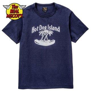 ザ リアルマッコイズ JOE MCCOY TEE / HOTDOG ISLAND 半袖 Tシャツ MC19028 THE REAL McCOY'S