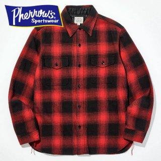 フェローズ ネルシャツ ミディアムウェイト フランネル チェック PHERROW'S 19W-796HS