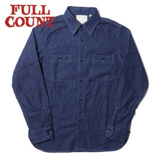フルカウント デニム ワークシャツ 長袖 4890-19 FULLCOUNT