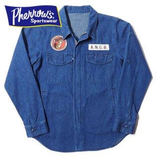 フェローズ エンジニアシャツ シャツジャケット ANGB 18S-PEGJ1 PHERROWS