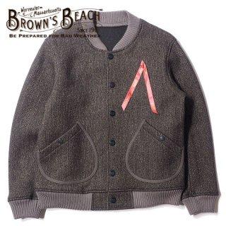 ブラウンズビーチ スタジアムジャンパー スタジャン BBJ8-006 BROWN'S BEACH