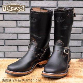 【予約商品】【納期約1ヶ月】 期間限定商品 ウエスコ WESCO ホースハイド エンジニアブーツ MISTER LOU 7600 BLACK HORSEHIDE