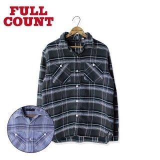 フルカウント フランネルシャツ 4021-3 チェックシャツ VINTAGE CHECK NEL FULLCOUNT