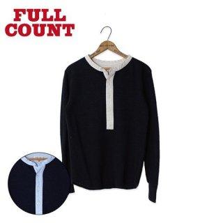 フルカウント サーマル ヘンリーネック Tシャツ 5991 THERMAL HENLEY NECK FULLCOUNT