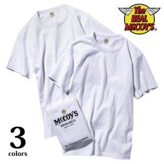 ザ リアルマッコイズ 2パックTシャツ McCOY'S 2pcs PACK TEE 半袖 MC18000 THE REAL McCOY'S