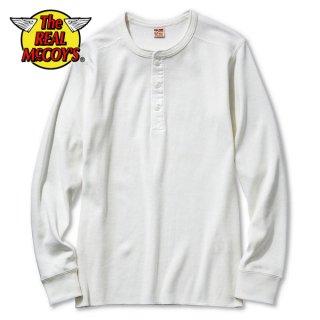 ザ リアルマッコイズ ヘンリーネック ロングスリーブTシャツ 半袖 UNION SHIRT LONG SLEEVE MC16117 THE REAL McCOY'S