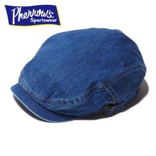 フェローズ デニム ハンチングキャップ 帽子 SHC1 PHERROWS