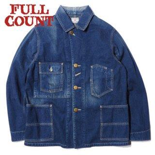 フルカウント デニム カバーオールジャケット 加工 DENIM COVERALL JACKET 2953HW FULLCOUNT
