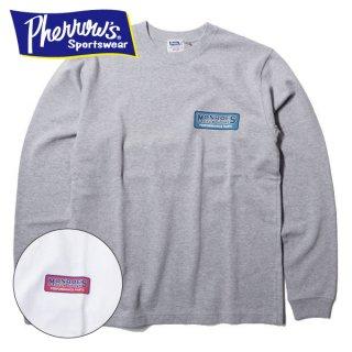 フェローズ ロングスリーブ Tシャツ 長袖 DIAMOND HEADERS MONROES 20S-PLT3 PHERROWS