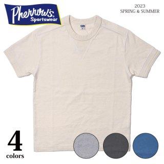 フェローズ Tシャツ Vガゼット付き プレーンT V GAZETTE T-SHIRTS PCT1-S PHERROW'S