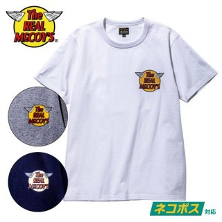 ザ リアルマッコイズ ロゴTシャツ THE REAL McCOY'S LOGO TEE S/S MC20001 THE REAL McCOY'S
