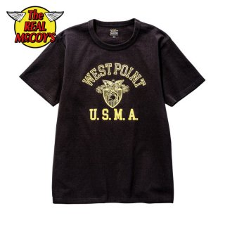 【PRE-ORDER】ザ リアルマッコイズ ミリタリーTシャツ MILITARY TEE / WEST POINT MC20011 THE REAL McCOY'S