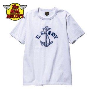 ザ リアルマッコイズ ミリタリーTシャツ MILITARY TEE / U.S. NAVY ANCHOR MC20012 THE REAL McCOY'S