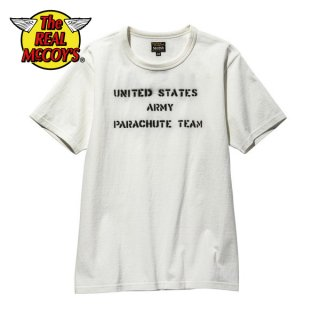 ザ リアルマッコイズ ミリタリーTシャツ MILITARY TEE / U.S. ARMY PARACHUTE TEAM MC20013 THE REAL McCOY'S