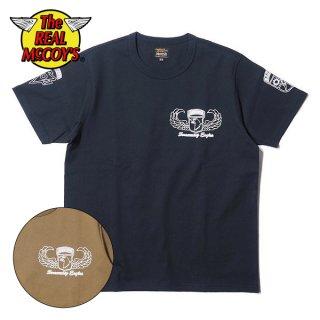 ザ リアルマッコイズ ミリタリーTシャツ MILITARY TEE / AIRBORNE RANGER 69-70 MC20014 THE REAL McCOY'S
