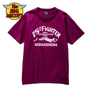 ザ リアルマッコイズ ミリタリーTシャツ MILITARY TEE / 75th FIGHTER SQUADRON MC20015 THE REAL McCOY'S