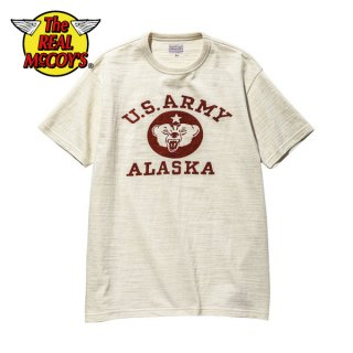【PRE-ORDER】ザ リアルマッコイズ ミリタリーTシャツ AMERICAN ATHLETIC TEE / U.S. ARMY ALASKA MC20021 THE REAL McCOY'S