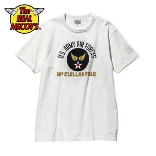 【PRE-ORDER】ザ リアルマッコイズ TシャツAMERICAN ATHLETIC TEE / USAAF McCLELLAN FIELD MC20022 THE REAL McCOY'S
