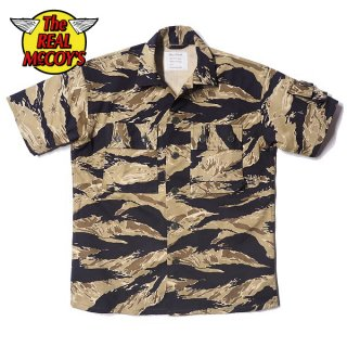 【PRE-ORDER】ザ リアルマッコイズ TIGER CAMOUFLAGE S/S SHIRT / GOLD TONE MS20001 THE REAL McCOY'S