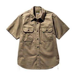 【PRE-ORDER】ザ リアルマッコイズ 半袖シャツ M-38 KHAKI SHIRT S/S MS20005 THE REAL McCOY'S