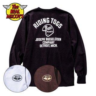 【PRE-ORDER】ザ リアルマッコイズ BUCO L/S TEE / RIDING TOGS ロングスリーブTシャツ BC20005 THE REAL McCOY'S