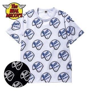 ザ リアルマッコイズ BUCO HELMET LOGO TEE 半袖Tシャツ BC20004 THE REAL McCOY'S