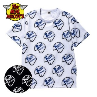 【PRE-ORDER】ザ リアルマッコイズ BUCO HELMET LOGO TEE 半袖Tシャツ BC20004 THE REAL McCOY'S