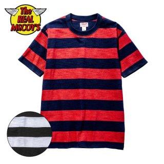 ザ リアルマッコイズ BUCO STRIPE TEE S/S 半袖 ストライプTシャツ BC20007 THE REAL McCOY'S
