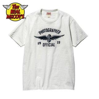 【PRE-ORDER】ザ リアルマッコイズ BUCO LW TEE / PHOTOGRAPHER 1973 半袖Tシャツ BC20006 THE REAL McCOY'S