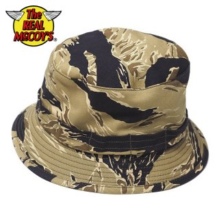 【PRE-ORDER】ザ リアルマッコイズ TIGER CAMOUFLAGE BOONIE HAT GOLD TONE リバーシブルハット 帽子 MA20005 THE REAL McCOY'S