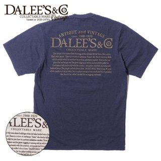 ダリーズ&コー スラブ Tシャツ ロゴ 半袖 30s AD20T-D DALEE'S&CO