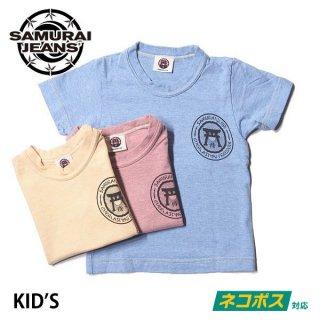 サムライジーンズ サムライ倶楽部 キッズTシャツ 半袖 KID'S TEE SCKT15-101 SAMURAI JEANS