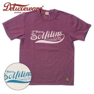 デラックスウエア プリント Tシャツ 半袖 SOLFLINE SDL-2002 DELUXEWARE