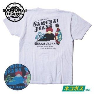 サムライジーンズ リペンコットン吊編Tシャツ 半袖 SJST20-108 SAMURAI JEANS