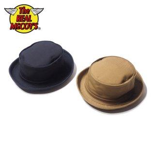 ザ リアルマッコイズ コットン ポークパイハット 帽子 COTTON PORKPIE HAT MA20017 THE REAL McCOY'S