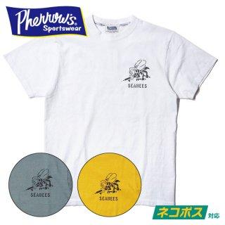 フェローズ プリント Tシャツ 半袖 SEABEES 20S-PT15 PHERROWS