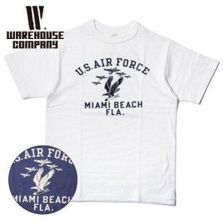 ウエアハウス プリント 半袖 Tシャツ 4601 MIAMI BEACH WAREHOUSE