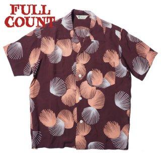 フルカウント ハワイアンシャツ アロハ 半袖 HAWAIIAN SHIRTS SCALLOPS 4000 FULLCOUNT