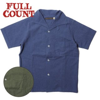 フルカウント イタリアンカラー リゾートシャツ 半袖 ITALIAN COLLAR RESORT SHIRTS 4974 FULLCOUNT