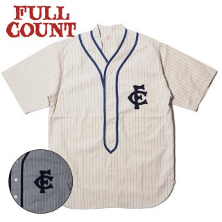 フルカウント クラシック ベースボールシャツ 半袖 CLASSIC BASEBALL SHIRT 4030 FULLCOUNT