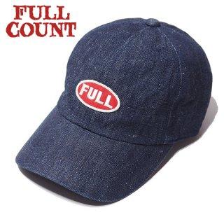 フルカウント デニム ベースボールキャップ 帽子 FULL WAPPEN DENIM CAP 6770 FULLCOUNT