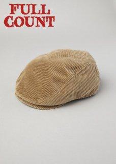 【10-11月入荷予定】フルカウント コーデュロイ ハンチングキャップ CORDUROY HUNTING CAP 6120 FULLCOUNT