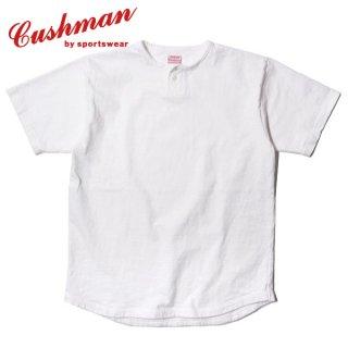 クッシュマン 1つボタンヘンリーネックTシャツ ONE BUTTON HENLEY NECK TEE 26619 CUSHMAN