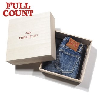 [KID'S]フルカウント  ファーストジーンズ キッズデニム ギフトボックス MY FIRST JEANS KIDS DENIM GIFTBOX 0105-ONE FULLCOUNT