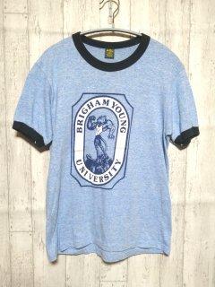 古着 UEAZEES byRUSSELL リンガーTシャツ/M blue
