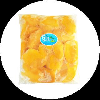 【送料無料/業務用】冷凍完熟マンゴー1kg (真空冷凍パック)
