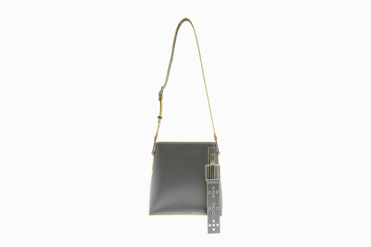 [40%OFF] MIDIUM EYELETED SHOULDER BAG