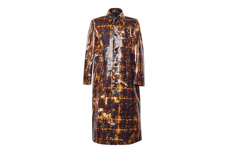 SINGLE TRENCH COAT CHAOS BROWN